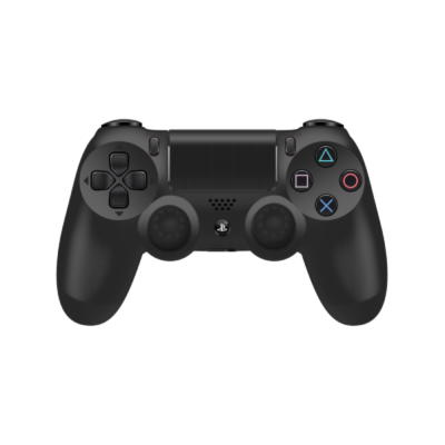 Black Controller Grips on Black PS4 Controller